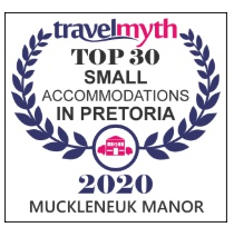 Travel Myth Top 30 Small Accommodation in Pretoria